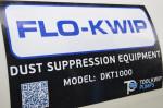 Flo-kwip dust suppression equipment